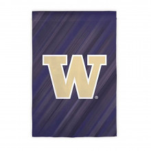 "NCAA Licensed Washington Huskies Double Side Outdoor Decorative Suede 12.5"" x 18"" Flag"