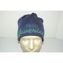 NBA Officially Licensed Dallas Mavericks Embroidered Team Color Beanie Hat Cap Lid