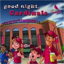 MLB Licensed St. Louis Cardinals Good Night, Cardinals Board Book