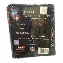 """NFL Officially Licensed Tampa Bay Buccaneers Vinyl Tablecloth 60"""" x 84"""""""