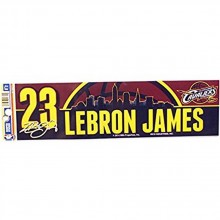 NBA Licensed Cleveland Cavaliers #23 Lebron James Bumper Sticker