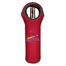MLB Licensed St. Louis Cardinals Wine Tote, Red, 750ml