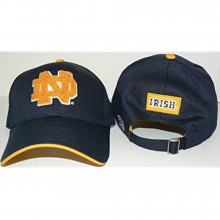 NCAA Licensed Notre Dame Classic Adjustable Hat Cap Lid