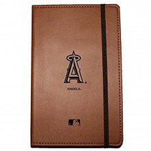 MLB Officially Licensed Los Angeles Angels Leather Bound Journal