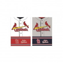 """Officially Licensed St. Louis Cardinals Outdoor Decorative Foil 43"""" x 29"""" House Flag"""