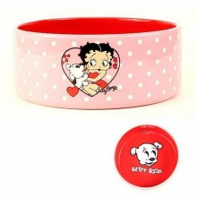 Betty Boop Ceramic Dog Bowl