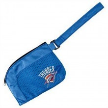 NBA Officially Licensed Oklahoma City Thunder Stadium Wristlet Purse Handbag