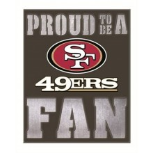 NFL Officially Licensed San Francisco 49ers LED Metal Wall Art