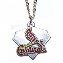 MLB Officially Licensed St. Louis Cardinals Home Plate Necklace
