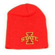 NCAA Iowa State Cyclones Classic Red Knit Beanie