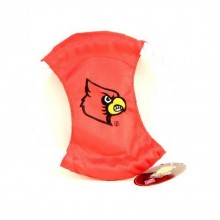 NCAA Officially Licensed Louisville Cardinals Rope Ring Dog Toy