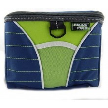 Navy Insulated 6 can Cooler/Lunch Tote with Shoulder Strap