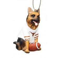 NCAA Licensed Texas Longhorns Shepherd Team Dog Ornament