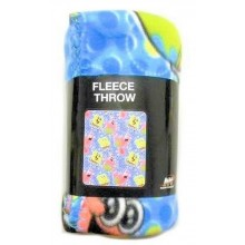 Officially Licensed Nickelodean Spongebob Squarepants and Patrick Throw Blank...