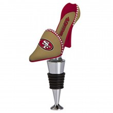 NFL Officially Licensed San Francisco 49ers Shoe Wine Stopper