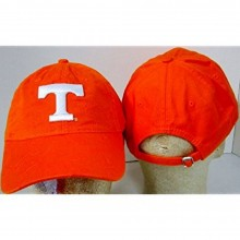 NCAA Officially Licensed Tennessee Volunteers Embroidered Team Logo Repeating T Baseball Hat Cap Lid Toque