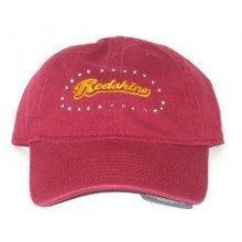 NFL Officially Licensed Washington Redskins Women's Rhinestone Adjustable Hat