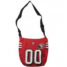 Little Earth San Francisco 49ers Quarterback Tote Bag