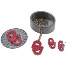 NCAA Oklahoma Sooners 4-in-1 Pewter Jewelry Box