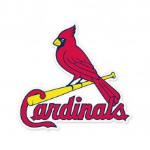 """MLB Licensed St. Louis Cardinals 4"""" X 4"""" Ultra Decals"""