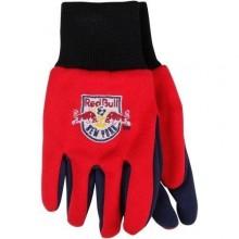 New York Red Bull Team Color Utility Gloves