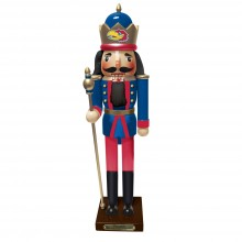 "Kansas Jayhawks 14""  Guardian Nutcracker"