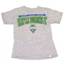 MLS Officially Licensed Seattle Sounders YOUTH Logo T-Shirt (X-Large 18-20)