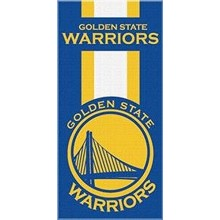 "NBA Offically Licensed Golden State Warriors Striped 30"" x 60"" Beach Towel"