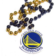 NBA Officially Licensed Golden State Warriors Sports Beads With Medallion