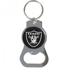 Oakland Raiders Bottle Opener Keychain