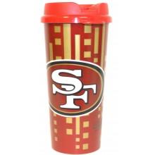 San Francisco 49ers 16-ounce Insulated Travel Mug