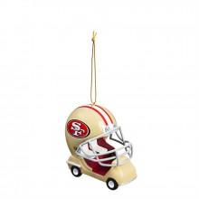 San Francisco 49ers  Field Car Ornament