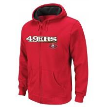 San Francisco 49ers Child Full Zip Hoodie Jacket (Small 4)