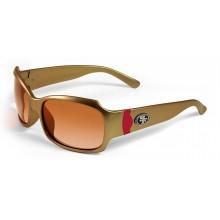 San Francisco 49ers Gold Bombshell Sunglasses