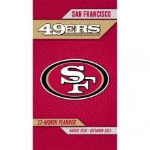 San Francisco 49ers 17 Month Pocket Planner (2018-2018)
