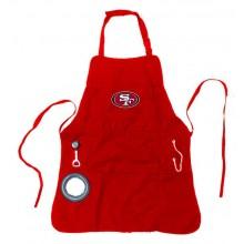 San Francisco 49ers Men's Grilling Utility Apron
