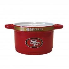San Francisco 49ers 23-Ounce Sculpted Gametime Bowl