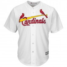 MLB Officially Licensed St. Louis Cardinals Womens Molina White Replica Jersey