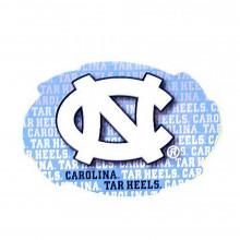 NCAA Officially Licensed North Carolina Tar Heels Repeating Design Swirl Magnet