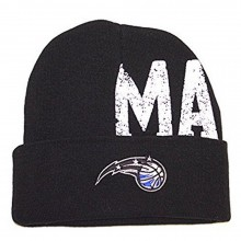 NBA Officially Licensed Orlando Magic Cuffed Hype Logo Beanie Hat Cap Lid Skull
