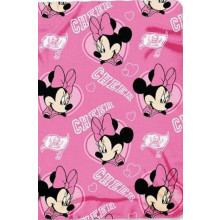"Officially Licensed Tampa Bay Buccaneers Minnie Mouse Cheer Fleece Throw Blanket (40"" X 50"")"