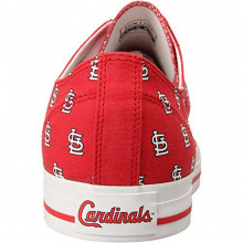 "MLB Officially licensed Mens St.Louis Cardinals ""STL"" Row One Victory Sneaker Tennis Shoes"