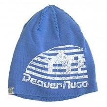 NBA Officially Licensed Denver Nuggets Reverse Stitched Blue White Beanie Hat Cap Lid