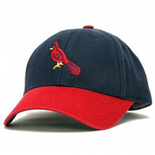 Officially Licensed St. Louis Cardinals 1942 Home Cooperstown Adjustable Cap by American Needle