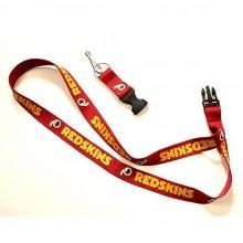 NFL Officially Licensed Breakaway Lanyard Key Chain (Washington Redskins)