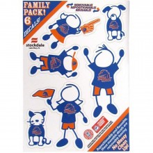NCAA Boise State Broncos Family Decals, Small