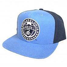 MLS Officially Licensed Philadelphia Union Flat Bill Powder Blue Hat Cap Lid