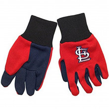 MLB Officially Licensed St Louis Cardinals YOUTH Blue Palm Sport Utility Work Gloves