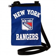 NHL New York Rangers Game Day Pouch Purse