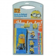 Despicable Me2 Minions 11 Piece Back To School Stationary Set